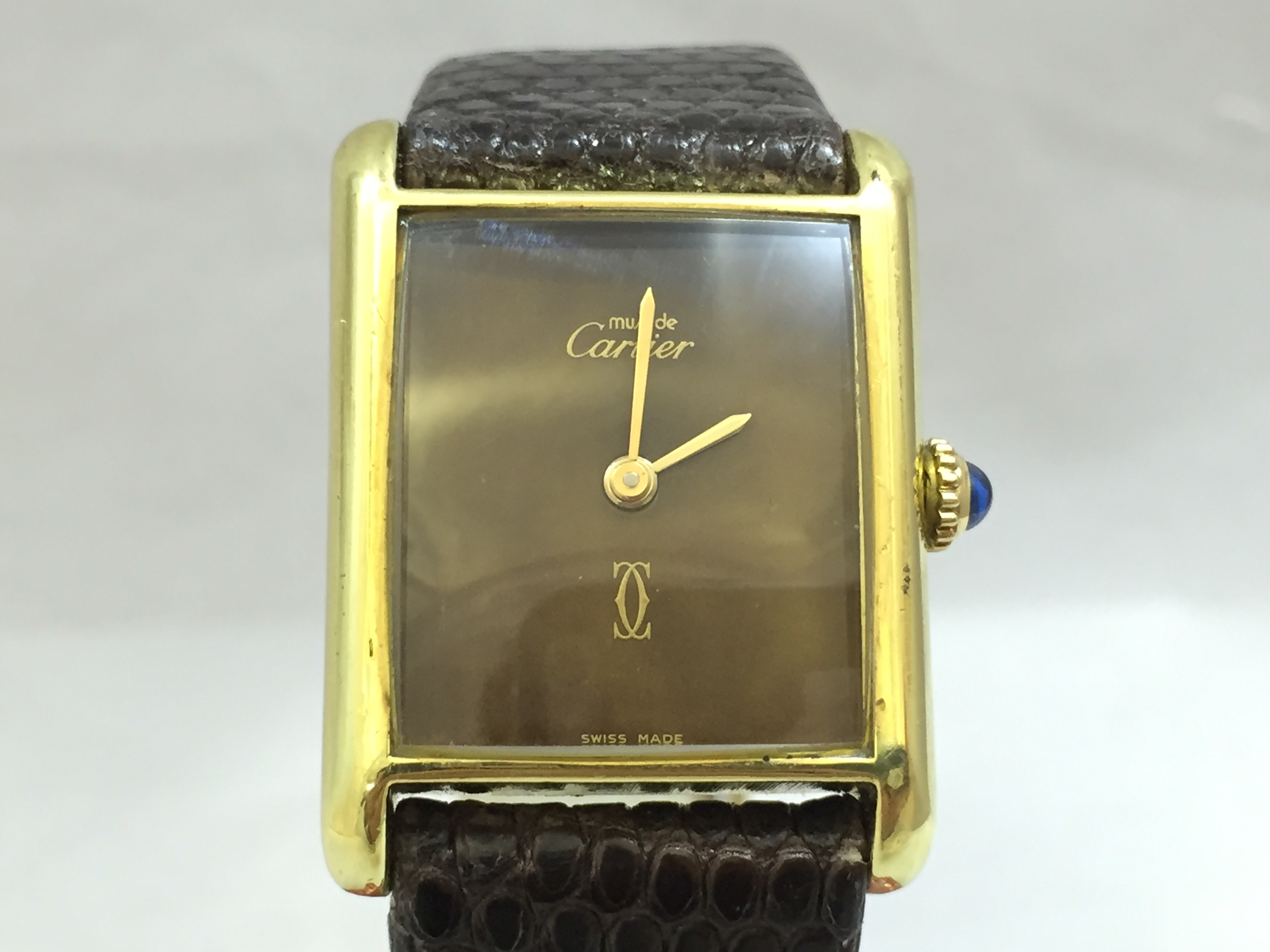 strap on watches cartier tank r anglaise comments xl custom